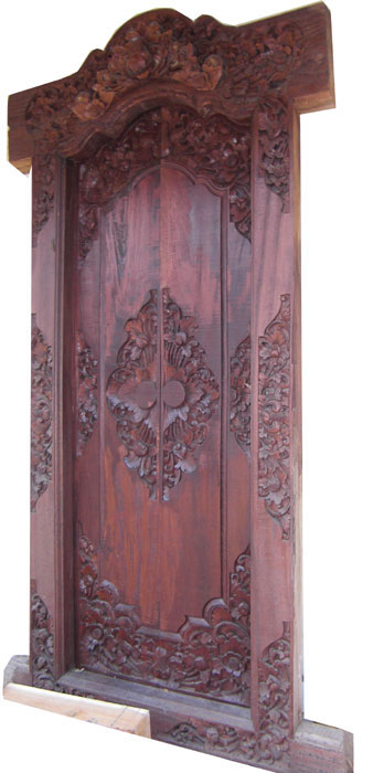 Balinese Door Carving