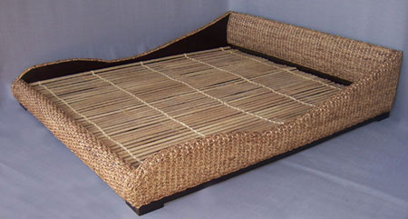 Bed Met Matras : Teak bed teak canopy bed made in bali indonesia